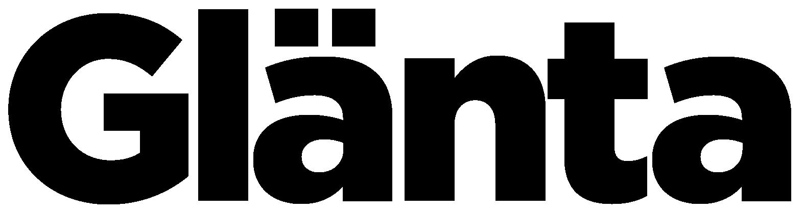 Glänta logotype