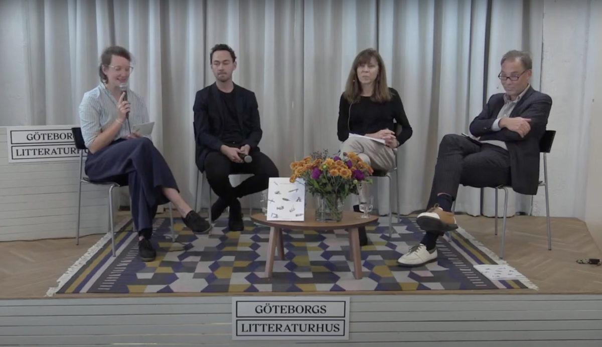samtal om verktygslådan under bokmässan 2020