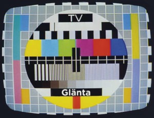 Glänta TV testbild