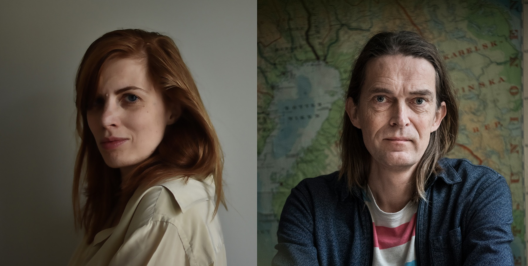 Sven Anders Johansson och Lydia Sandgren i samtal om litteraturens slut …